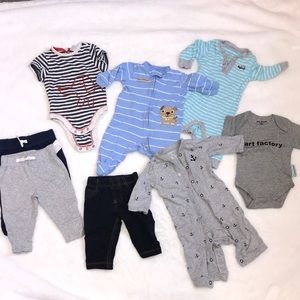 0-3 month Bundle mixed brands